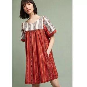 NEW Anthropologie Kopal boho tunic dress